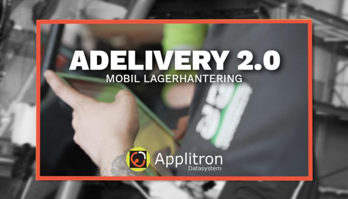Nu börjar vi rulla ut Adelivery 2.0