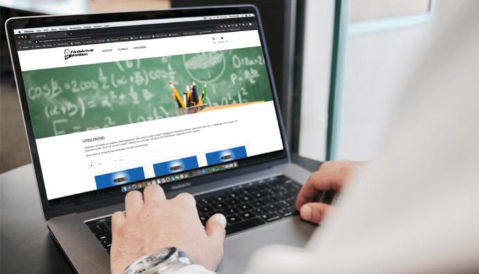 Färdskrivarwebben – KG Sandströms nyutvecklade onlineplattform för lärande